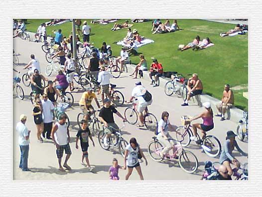 Huntington Beach Bicycle Trail Bikers1